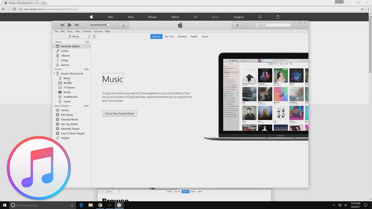 How to put new music on itunes