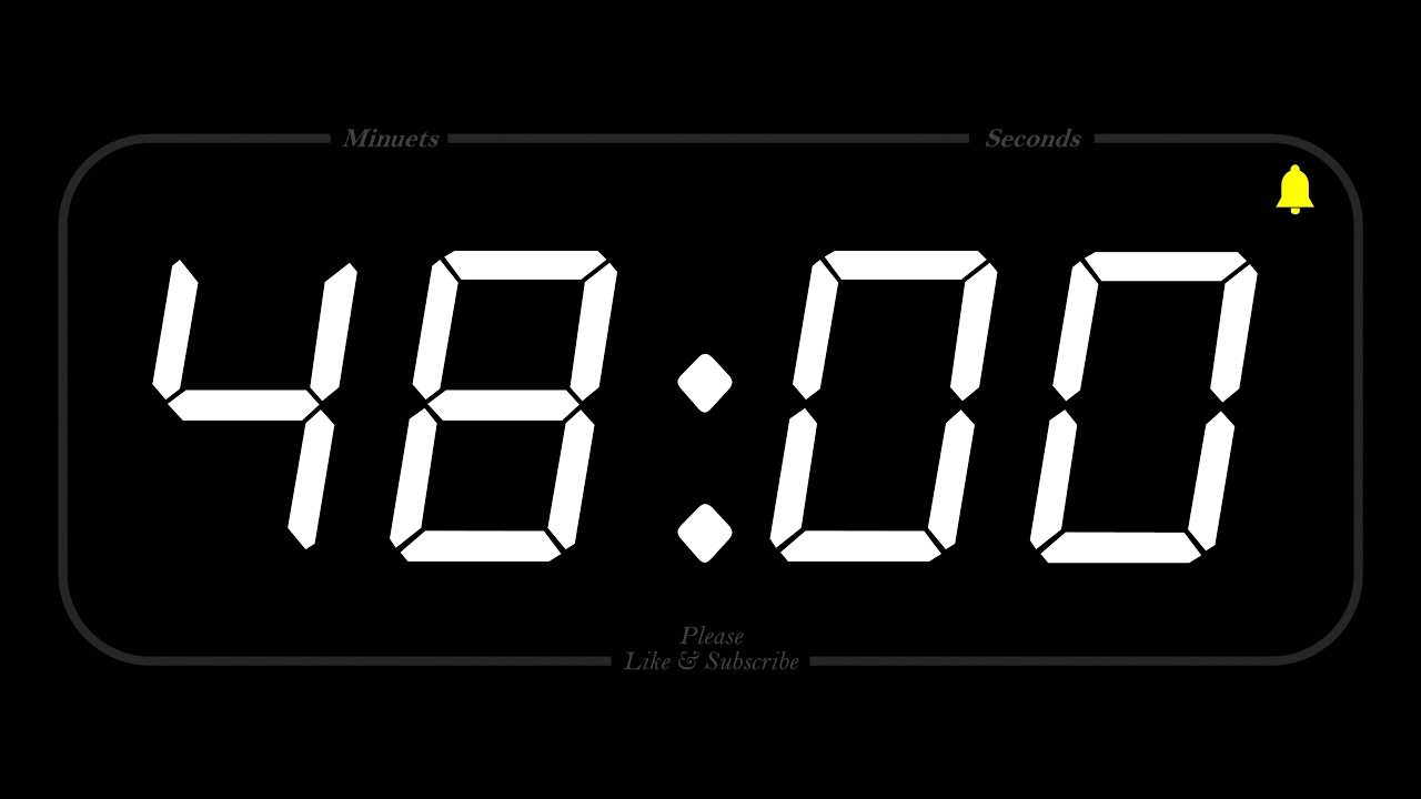 48 minute timer