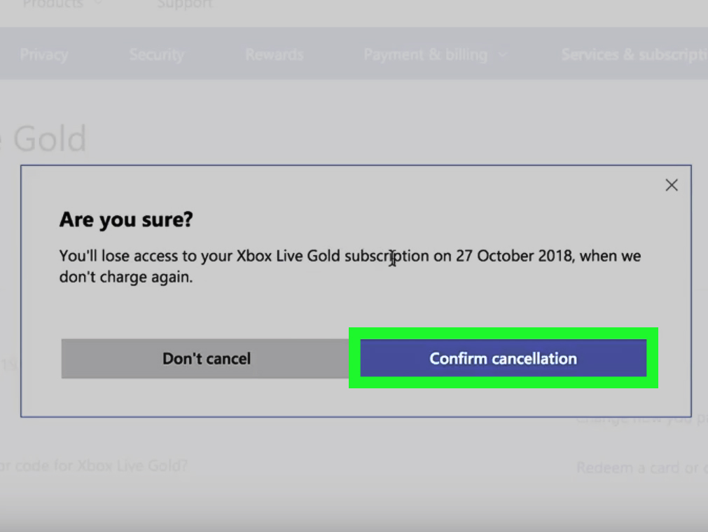 Can i cancel my xbox live gold membership